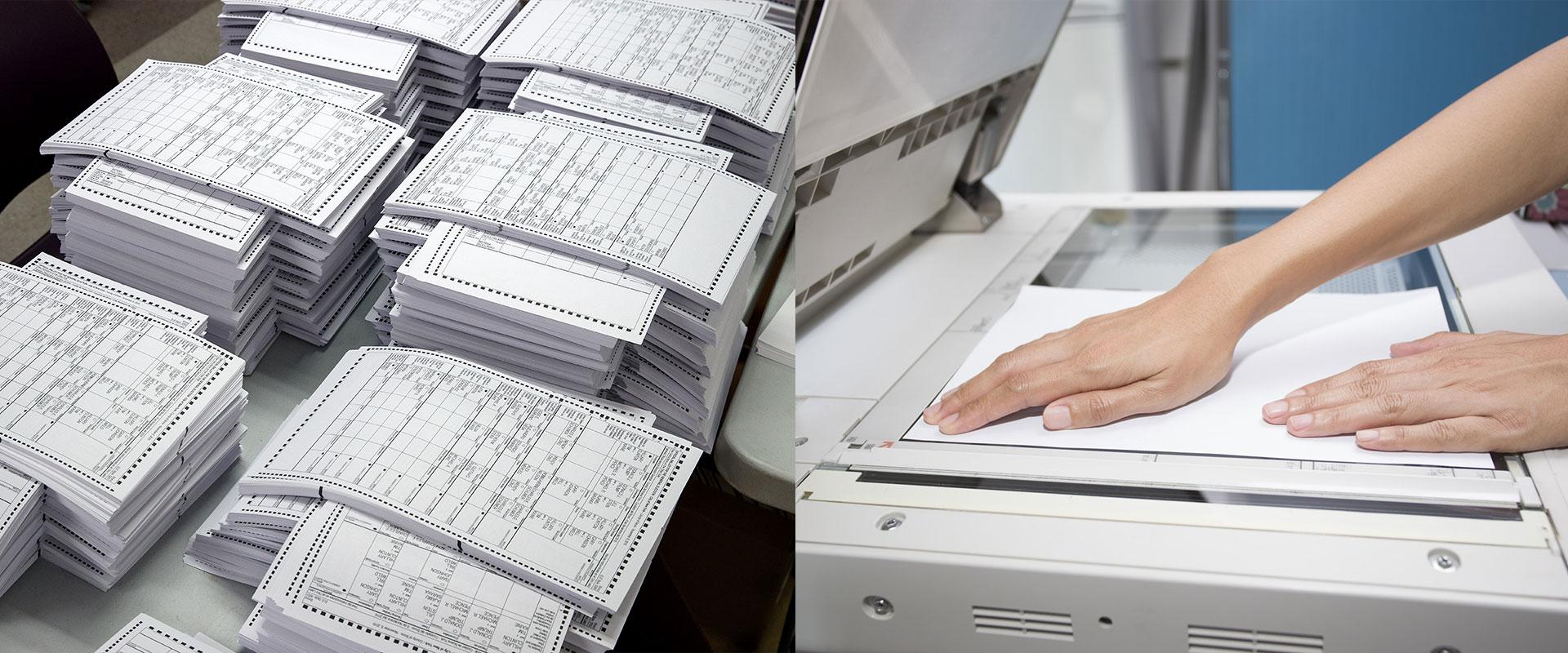 Печать множества документов