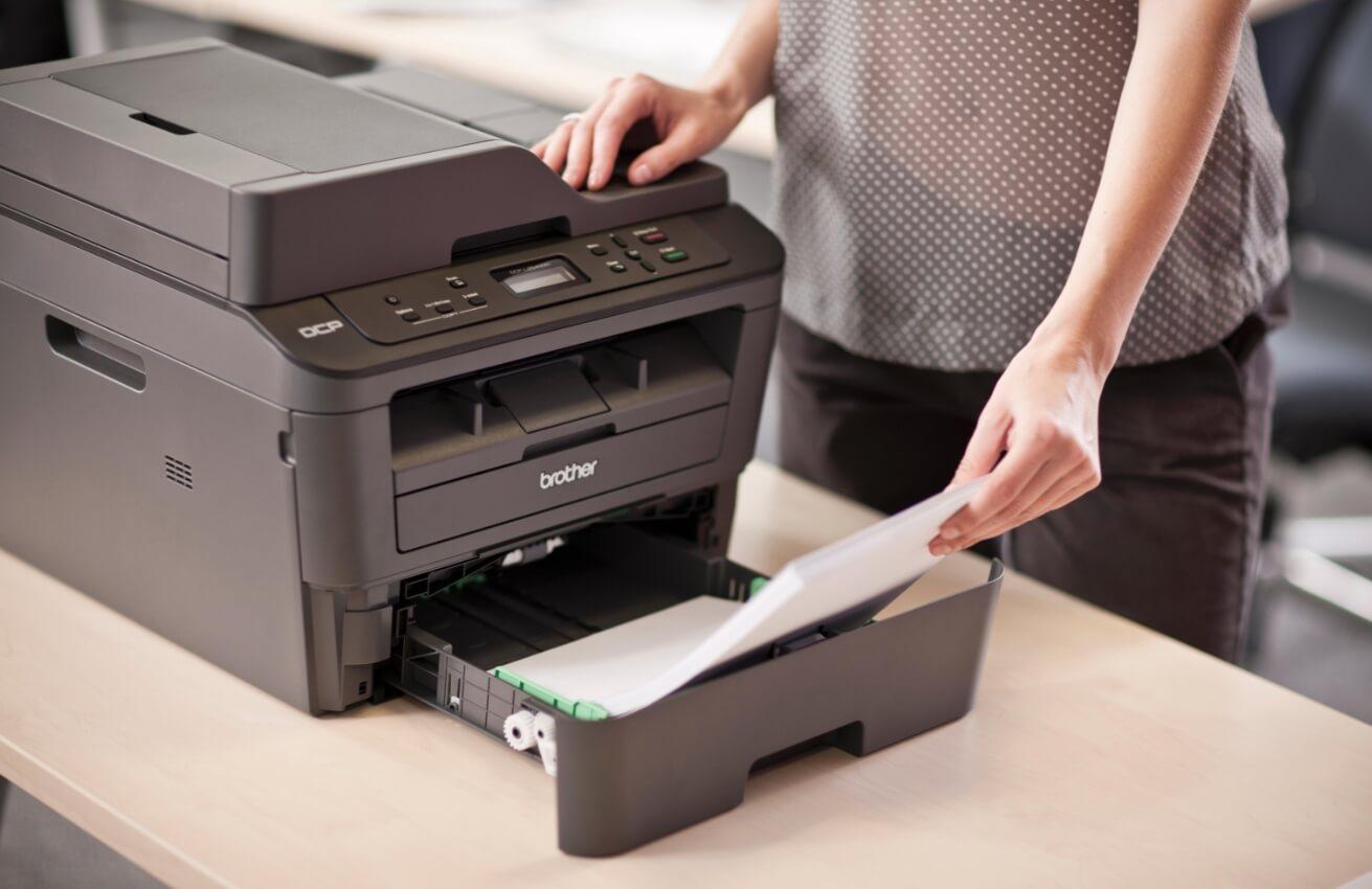 Копирование с помощью принтера