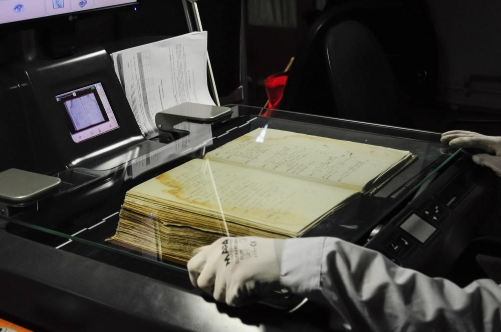 Сканирование и оцифровка книги для архива