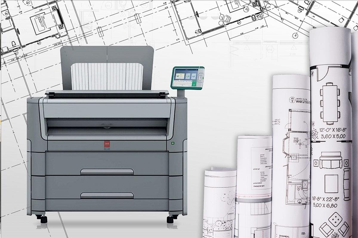 Сканирование чертежей с помощью специального оборудования