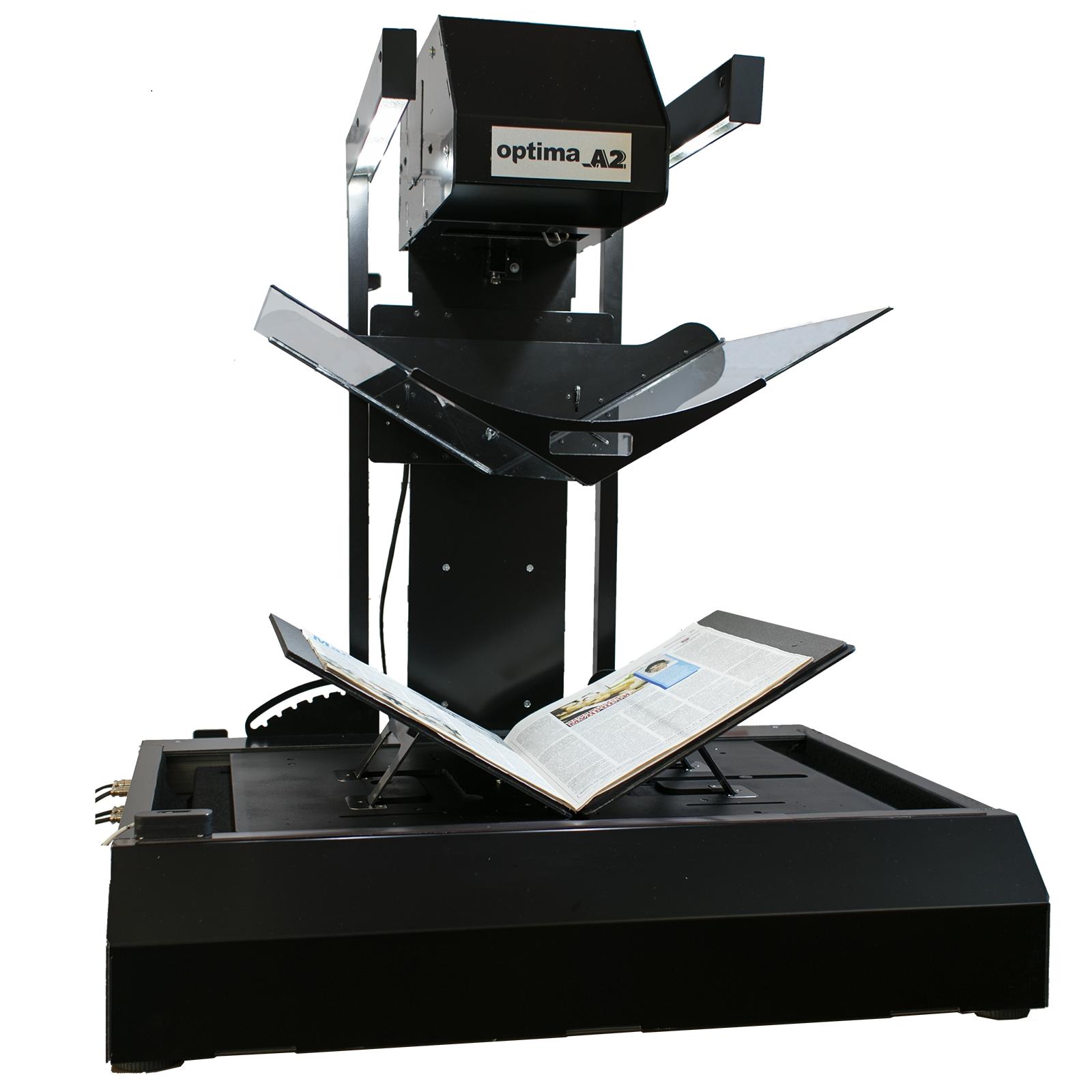 Сканирование книги с помощью фотосканера