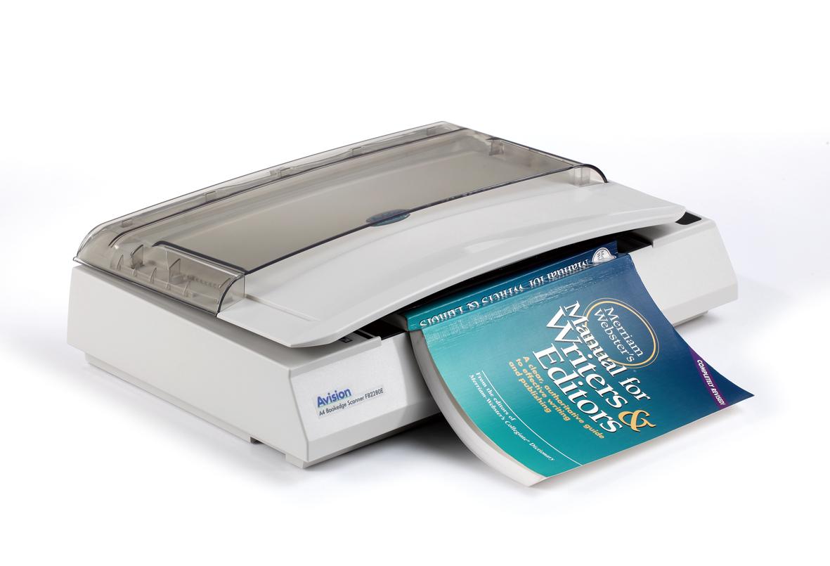 Особенности сканирования книги планшетным сканером