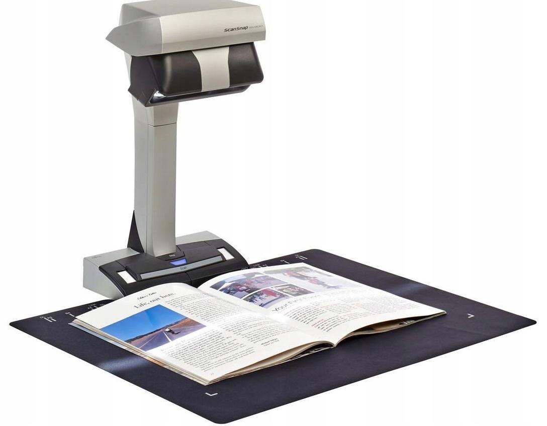 Высокотехнологичное оборудование для сканирования книги