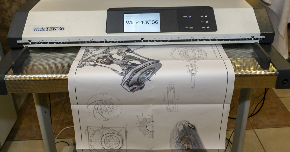 Востребованное сканирование чертежей
