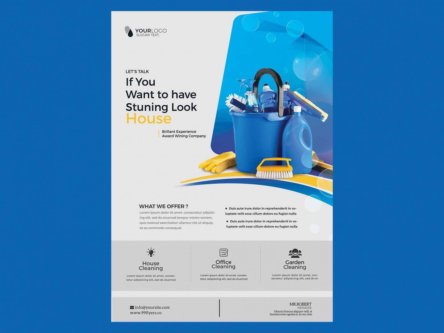 Дизайнерские листовки